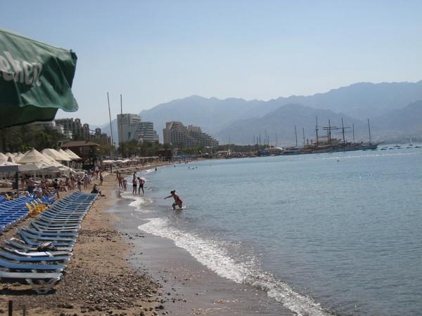 Eilat plage