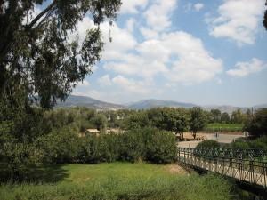 Vue sur le plateau du Golan