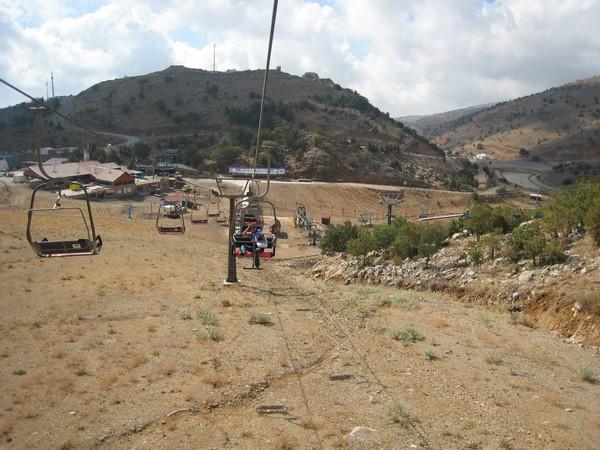 Le Golan en télésiège